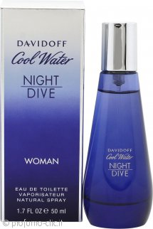 Davidoff Cool Water Night Dive Woman Eau de Toilette 50ml Spray