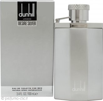 Dunhill Desire Silver Eau de Toilette 100ml Spray