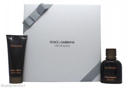 Dolce & Gabbana Pour Homme Intenso Confezione Regalo 75ml EDP + 100ml Balsamo Dopobarba