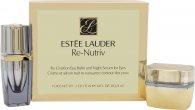 Estee Lauder Re-Nutriv Re-Creation Confezione Regalo 15ml Balsamo Occhi + 4ml Siero Notte per Occhi