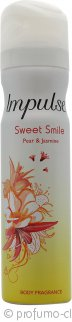 Impulse Sweet Smile Spray Corpo 75ml