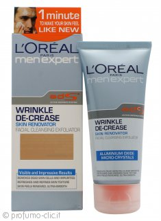 L'Oreal Men Expert Wrinkle De-Crease Cleansing Exfoliator 60ml
