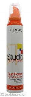L'Oreal Studio Line Curl Power Re-Curling Mousse 200ml