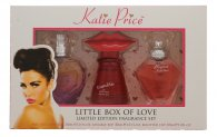 Katie Price Little Box of Love Confezione Regalo 30ml Besotted EDP + 30ml Kissable EDP + 30ml Precious Love EDP