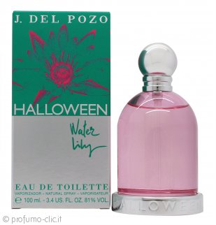 Jesus del Pozo Halloween Water Lily Eau de Toilette 100ml Spray