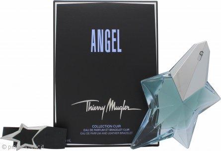 Thierry Mugler Angel Confezione Regalo 50ml EDP Ricaricabile + Braccialetto in Pelle