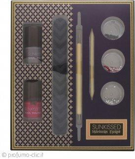 SUNkissed Nail Artisan Kit Confezione Regalo - 8 Pezzi