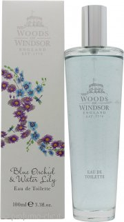 Woods of Windsor Blue Orchid & Water Lily Eau de Toilette 100ml Spray