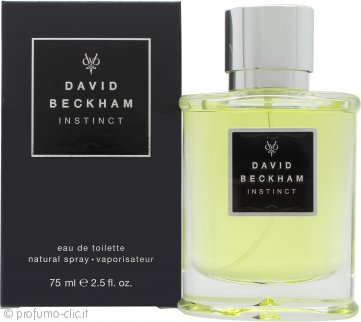 David Beckham Instinct Eau de Toilette 75ml Spray