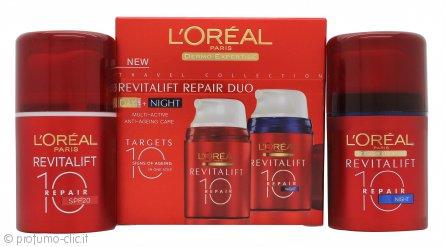 L'Oreal Revitalift Repair Confezione Regalo 50ml Crema Giorno + 50ml Crema Notte