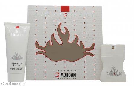 Morgan Light My Heart Confezione Regalo 35ml EDT + 100ml Lozione per il Corpo