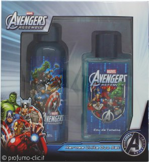 Marvel Avengers Assemble Confezione Regalo 75ml EDT Spray + 100ml Gel Doccia
