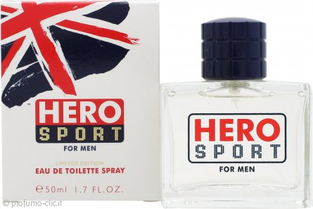 Mayfair Hero Sport Eau de Toilette 50ml Spray - Edizione Limitata