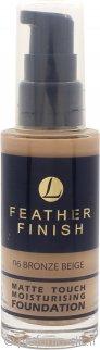 Lentheric Feather Finish Matte Touch Moisturising Foundation 30ml - Bronze Beige 06