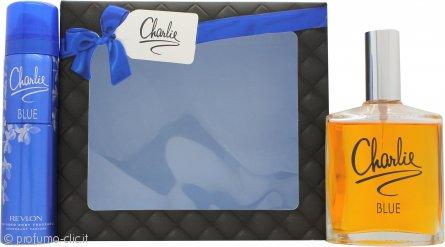 Revlon Charlie Blue Eau Fraiche Confezione Regalo 100ml EDT + 75ml Deodorante Spray