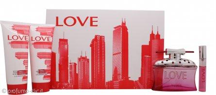 Sex In The City Sex In The City Love Confezione Regalo 100ml EDP + 15ml EDP + 150ml Gel Doccia + 150ml Lozione Corpo