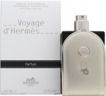 Voyage d'Hermès Pure Perfume 100ml Natural Spray - Ricaricabile