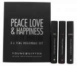 Young & Gifted Confezione Regalo 3 x 15ml EDP Rollerball (Peace + Love + Happiness)
