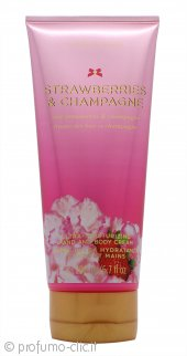 Victorias Secret Strawberries and Champagne Crema Mani & Corpo 200ml