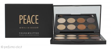 Young & Gifted Palette Ombretti - Peace