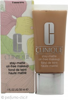 Clinique Stay-Matte Oil-Free Makeup Fondotinta 30ml - 20 Alabaster