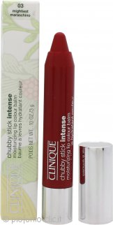 Clinique Chubby Stick Intense Moisturizing Balsamo Labbra Colorato 3g - Mightiest Maraschino