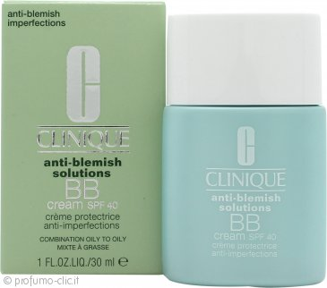 Clinique Anti-Blemish Solutions BB Cream SPF40 30ml - Medio Scuro