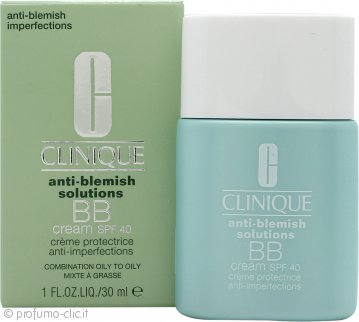Clinique Anti-Blemish Solutions BB Cream SPF40 30ml - Scuro