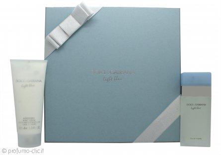 Dolce & Gabbana Light Blue Confezione Regalo 50ml EDT + 100ml Crema Corpo