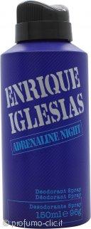 Enrique Iglesias Adrenaline Night Deodorante Spray 150ml