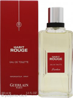 Guerlain Habit Rouge Eau De Toilette 100ml Spray