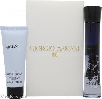 Giorgio Armani Code Confezione Regalo 75ml EDP + 75ml Lozione per il Corpo