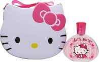 Hello Kitty Confezione Regalo 100ml EDT + Borsa Porta Pranzo di Metallo