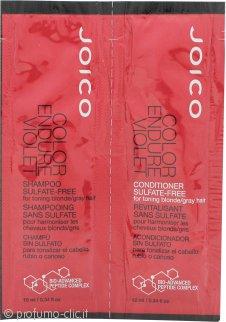 Joico Color Endure Violet Foils Confezione Regalo 10ml Shampoo + 10ml Balsamo