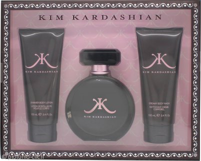 Kim Kardashian Kim Kardashian Confezione Regalo 100ml EDP + 100ml Gel Doccia + 100ml Lozione Corpo
