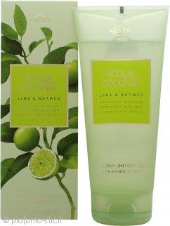 Mäurer & Wirtz 4711 Acqua Colonia Lime & Nutmeg Gel Doccia 200ml