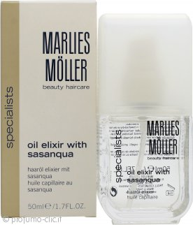 Marlies Möller Essential - Care Oil Elixir with Sasanqua Olio per Capelli 50ml