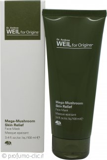Origins Dr. Andrew Weil for Origins Mega-Mushroom Skin Relief Maschera Viso 100ml