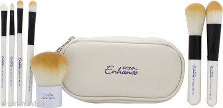 Royal Cosmetics Enhance Cosmetic Brush Pouch Confezione Regalo 7 Pennelli + Borsetta
