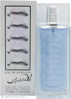 Salvador Dali Eau De Ruby Lips Eau de Toilette 50ml Spray