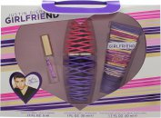 Justin Bieber Girlfriend Confezione Regalo 30ml EDP + 50ml Lozione Corpo + 5ml EDP Rollerball