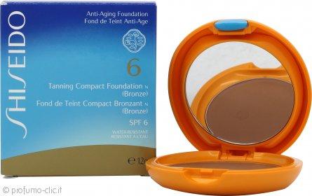 Shiseido Tanning Fondotinta Compatto 12g SPF6 - Bronze