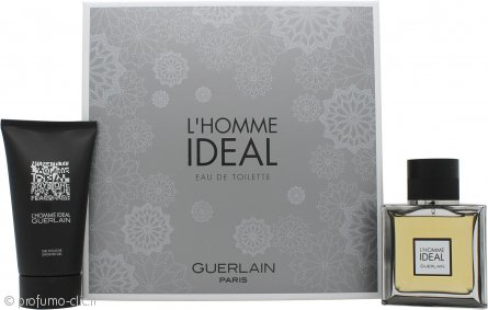 Guerlain L'Homme Ideal Confezione Regalo 50ml EDT Spray + 75ml Gel Doccia