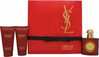 Yves Saint Laurent Opium Confezione Regalo 30ml EDT + 50ml Gel Doccia + 50ml Lozione Corpo