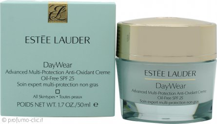 Estee Lauder DayWear Advanced Multi-Protection Anti-Oxidant Crema - 50ml Oil-Free SPF 25