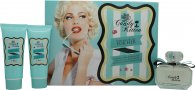 Candy Kitten Turquoise Confezione Regalo 100ml EDT + 100ml Mousse per il Corpo + 100ml Bagnoschiuma