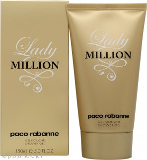 Paco Rabanne Lady Million Gel doccia 150ml
