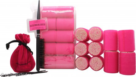 Sleep In Rollers Glow In The Dark Confezione Regalo 20 Bigodini + Pettine