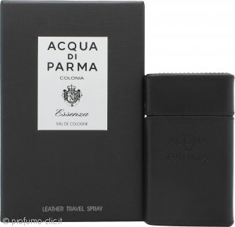 Acqua di Parma Colonia Essenza Eau de Cologne 30ml Spray da Viaggio in Pelle