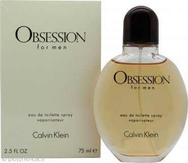 Calvin Klein Obsession Eau de Toilette 75ml Spray